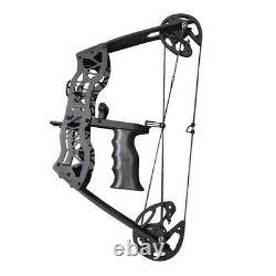 16 Compound Bow Set 35lbs Archery Arrow Fishing Hunting Right Left Hand Mini