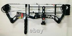 2021 PSE Brute NXT Bow Black 70# RH Hunting Bow Package New Ships Free Today