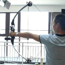 30-40lbs Black Archery Hunting 35 Right Hand Adjustable Compound Bow Shooting
