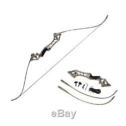 30-60lbs Archery Hunting Right Hand Takedown Recurve Bow and Arrows Shooting Set