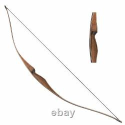 35LBS 54 Archery Hunting Bows Traditional Longbow Laminated Wood Right Hand Bow