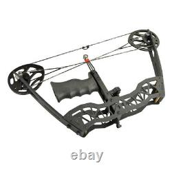 35lbs MINI Compound Bow Arrow Sight Bowfishing Left Right Hand Archery Hunting