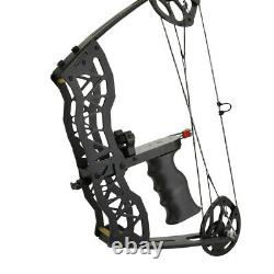 35lbs MINI Compound Bow Left Right Hand Archery Hunting Bowfishing Sight Arrows