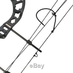38 Compound Bow 30-55lbs Metal Archery Adjustable 70% Practice Target Hunting