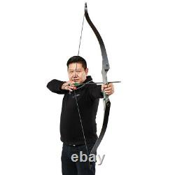 40lbs Takedown Archery Recurve Bow Laminated Wooden Longbow Right Hand Hunting