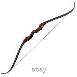 50lb 58 Takedown Recurve Bow Laminated Limbs Hunting Right Hand Archery Longbow