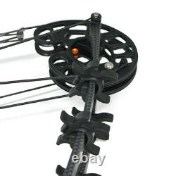50lbs Archery Compound Bow Catapult Dual-use Steel Ball Target Shooting Hunting