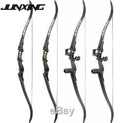 54 Recurve Bow 30-50lbs Archery Takedown American Right Hand Longbow Hunting