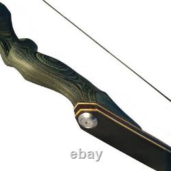 60 Takedown Longbow Kit Arrows Traditional Recurve Bow 25-60lbs Archery Hunting