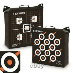 ARCHERY BAG TARGET BOW CROSSBOW Shooting Hunting Rinehart X-Bow Sight-In Grid