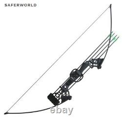 Archery Bows Black Traditional Compound Bow Hunting Training Practice Arrow Head
