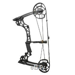 Archery Catapult Compound Bow Steel Ball Dual-use Bowfishing Hunting 40-60lbs