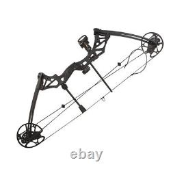 Archery Compound Bow Arrows Set 30-70lbs Right Hand Outdoor Hunting Shoot 320FPS