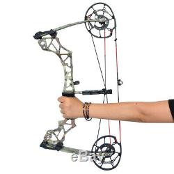 Archery Compound Bow Dual-use Catapult Steel Ball Fishing Hunting Slingshot
