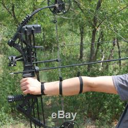 Archery Compound Bow Set 30-70lbs Arrows Sight Stabilizer Hunting Shooting