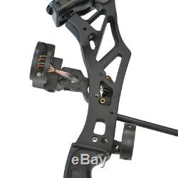 Archery Compound Bow Set 30-70lbs Sight Stabilizer Arrow Rest Hunting Shooting