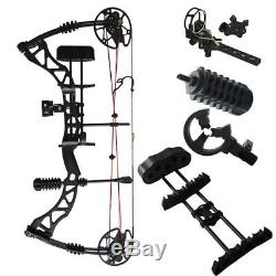 Archery Hunting Compound Bow Set Accessories Right Hand Target Shooting 45-70Lbs