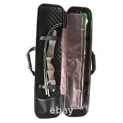 Archery Takedown Recurve Bow Case Arrow Holder Carry Box Bag Hunting Accessories