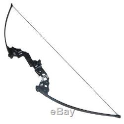 Archery Takedown Recurve Bow Hunting Right Hand 40# Practice Shooting Bow Sight