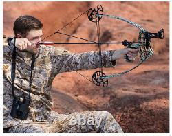 Archery Triangle Compound Bow 45lbs Right Left Hand Shooting Hunting Competition