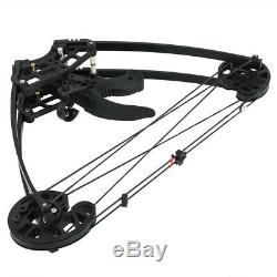 Archery Triangle Compound Bow Right Left Hand Hunting Shoot Competition 50lbs