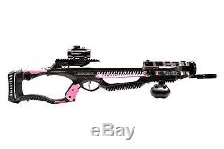 Barnett Recruit Crossbow Hunting Package 256 FPS Pink with Red Dot Sight 78649 NEW