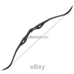 Black 62 ILF Archery American Hunting Right Hand Takedown Recurve Bow Target