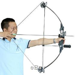 Black Archery Hunting Compound Bow Hunting Late-off 70% Outdoor 30-40lbs RH Bow