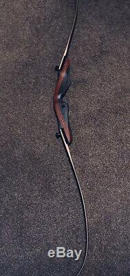 Black Hunter Recurve Bow Takedown Bow Archery Bow 20-50lb 62 Right Hand Hunting