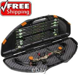 Bow Case Hard Archery Arrow Compound Carrying Holder Hunting Portable Compact