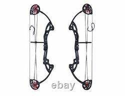 Compound Bow Archery for Youth & Beginner Left Hand with Archery Hunting Equipment