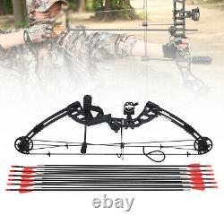 Compound Right Hand Bow Kit Arrow Archery Target Hunting Camo Set 30-60lbs Sale