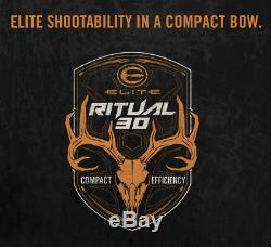 Elite Ritual 30 25½ to 30 Right-Hand 50# to 60# Archery Compound Hunting Bow