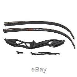 Huntingdoor 56 Takedown Recurve Bow 40lbs & 6 Hunting Aluminum Arrows SP 550