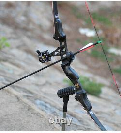 ILF 60'' Recurve Bow 20-50lbs Archery Carbon Arrows Takedown American Hunting