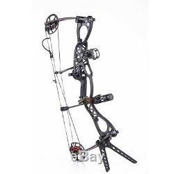 Junxing M122 Compound Bow Hunting Draw weight 20-70lbs Shooting Archery Set