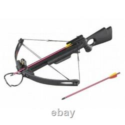 MK250 Hunting Crossbow with Arrows 250+ FPS Metal Arrows Compound Powerful Bow N