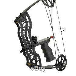 Mini Compound Bow Set 40lbs 16 Hunting Bowfishing Archery Right Left Hand