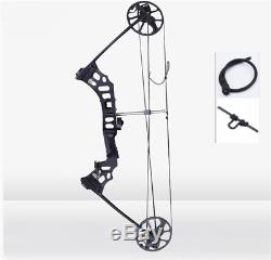 NEW Black 20-70lbs Hunting Archery Compound Bow Right Handed 329fps 3.6Kg