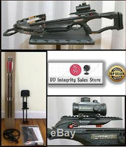 NEW witho BOX Barnett Recruit Tactical Compound Crossbow 78134 330fps RedDot Scope