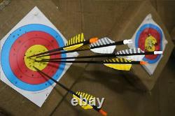 New 31'' Archery Carbon Arrows Shafts SP 400 Turkey Feather 7.5mm Hunting Arrows