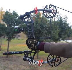 Outdoor hunting dual-use can launch steel ball compound shooting bow and arrows