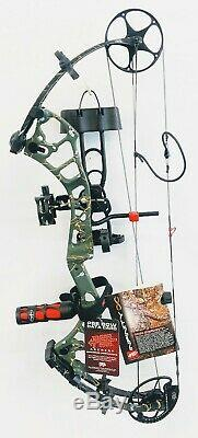 PSE Archery Infinity, 60lbs, RH (Upgrade to Stinger X) Ready to Hunt package