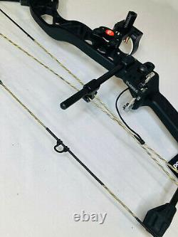 PSE Brute NXT 2021 Bow Black 35-70# RH Hunting Bow Package New Ships Free Today
