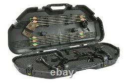 Plano All-Weather Bow Case Hunting Hard Case Archery Bow Travel 108115 BLK