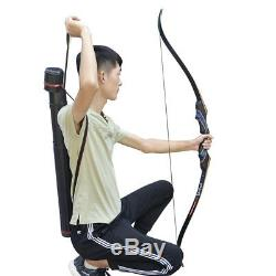 Takedown Archery Recurve Bow Kits 50Ibs Hunting Target Outdoor Beginner Practice