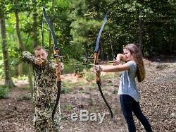 Takedown Recurve Bow 62 Archery Hunting bow 30 lb Right Handed