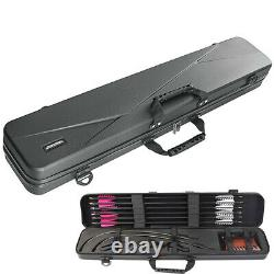 Takedown Recurve Bow Hard Shell Case Carrier Box Archery Hunting Target Storage