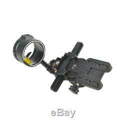 Tommy Hogg Compound Bow Sight 1 Pin Adjustable Wrapped Archery Adaptor Hunting