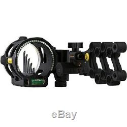 Trophy Ridge AS845 React V5 Right Hand Bow Hunting Sight + Light